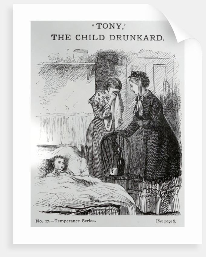 "Tony"", the child drunkard by English School"