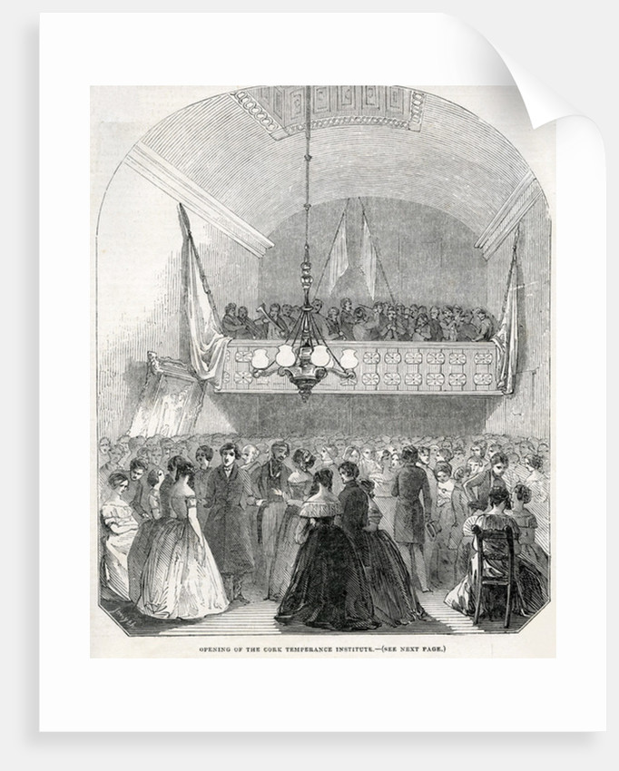 Opening of the Cork Temperance Institute by English School