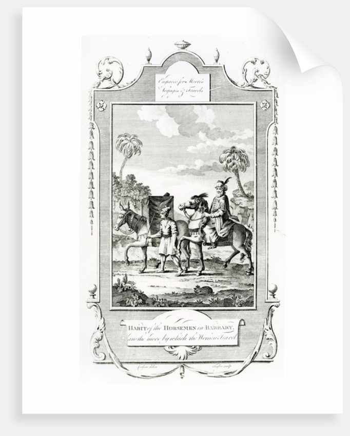 Habit of the Horsemen in Barbary by English School