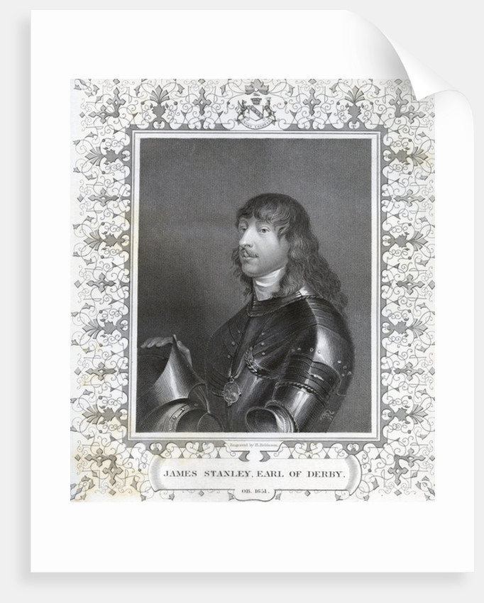 James Stanley, Earl of Derby by Anonymous