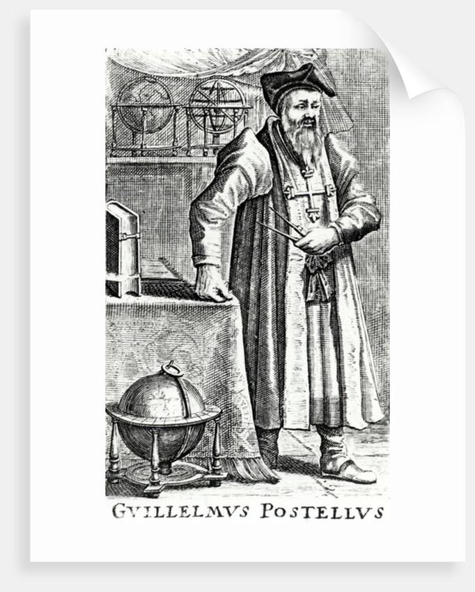 Guillelmus Postellus, 17th Century by Dutch School