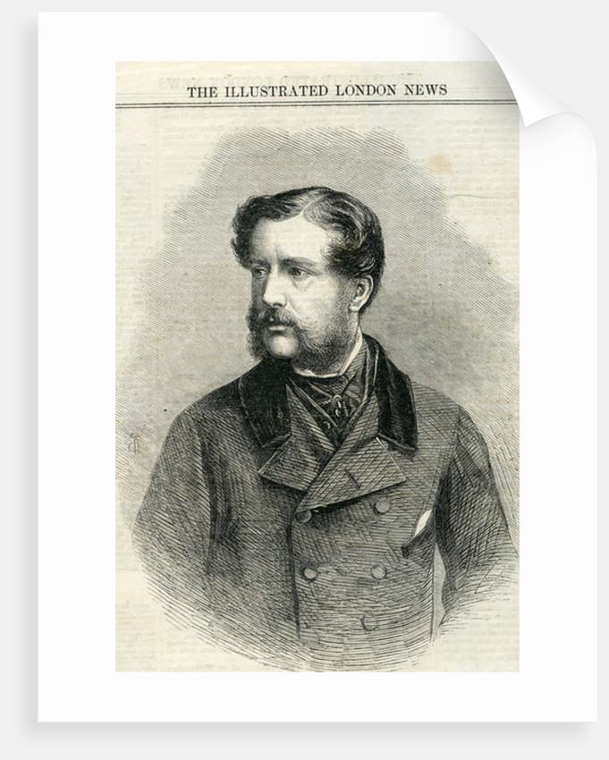 Major Charles Nasmyth from 'The illustrated London News' by English School