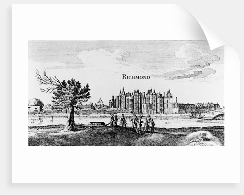 Richmond Palace by English School