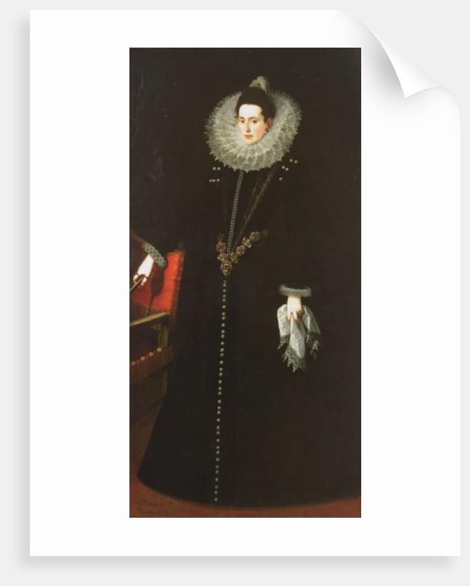 Catalina de la Cerda, Duchess of Lerma by Juan Pantoja de la Cruz