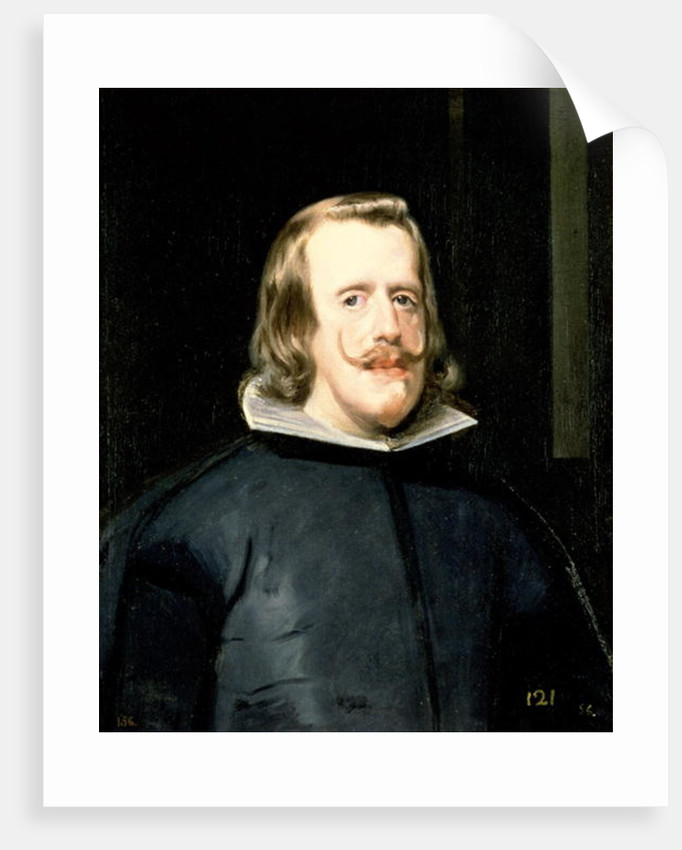 Portrait of Philip IV in Court Dress by Diego Rodriguez de Silva y Velazquez
