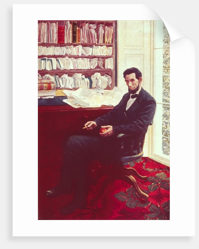 Portrait of Abraham Lincoln by Howard Pyle