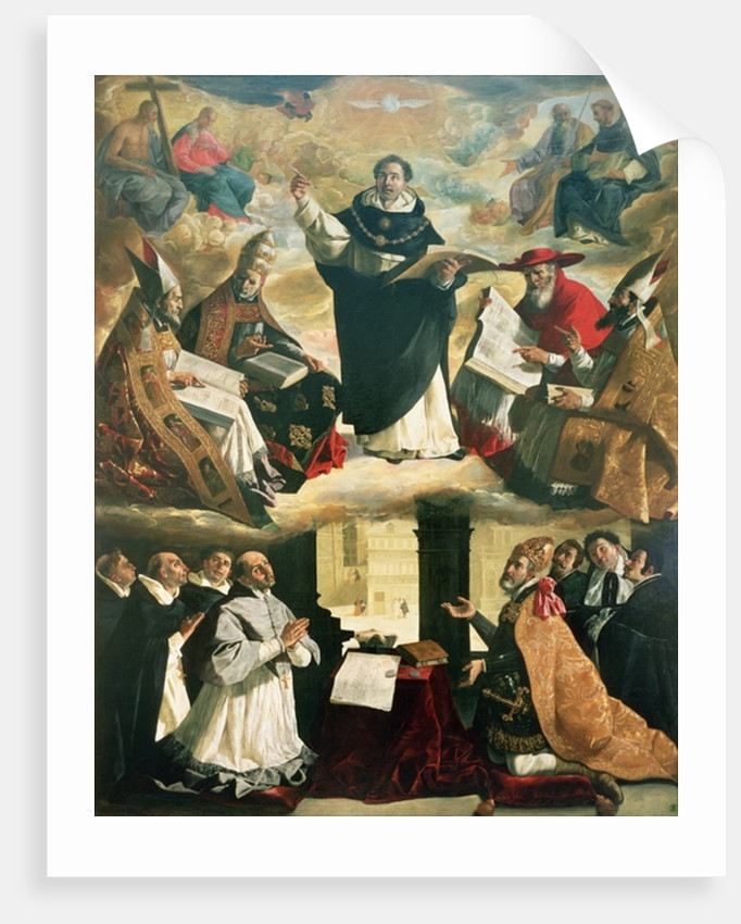The Apotheosis of St. Thomas Aquinas by Francisco de Zurbaran