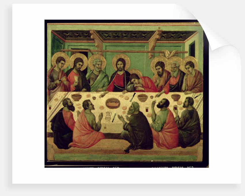 The Last Supper by Duccio di Buoninsegna