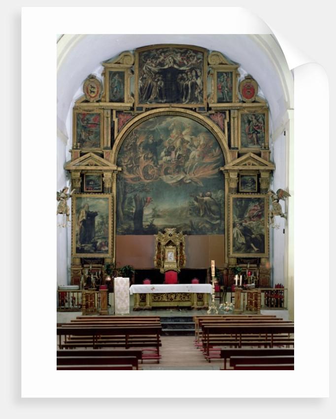 Elijah Altarpiece by Juan de Valdes Leal