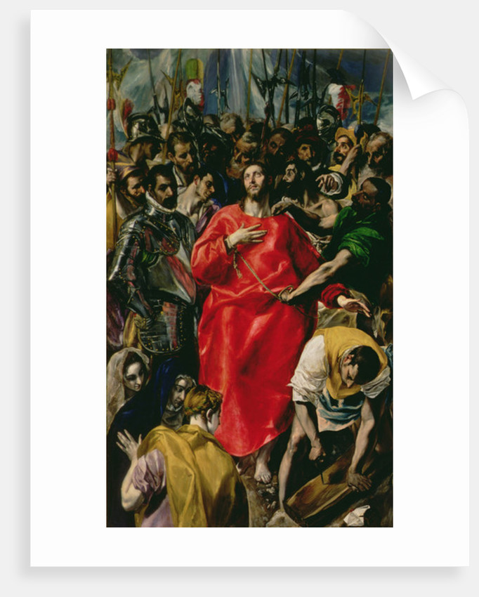 the disrobing of christ posters prints by el greco