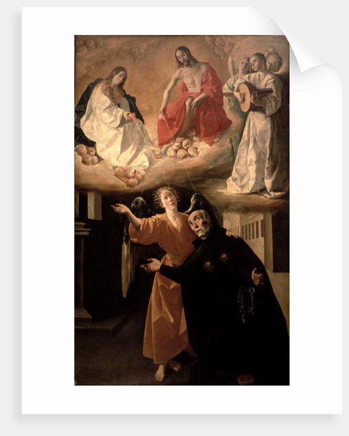 The Vision of St. Alphonsus Rodriguez by Francisco de Zurbaran