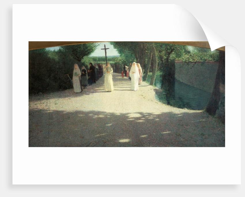 The Procession by Giuseppe Pellizza da Volpedo