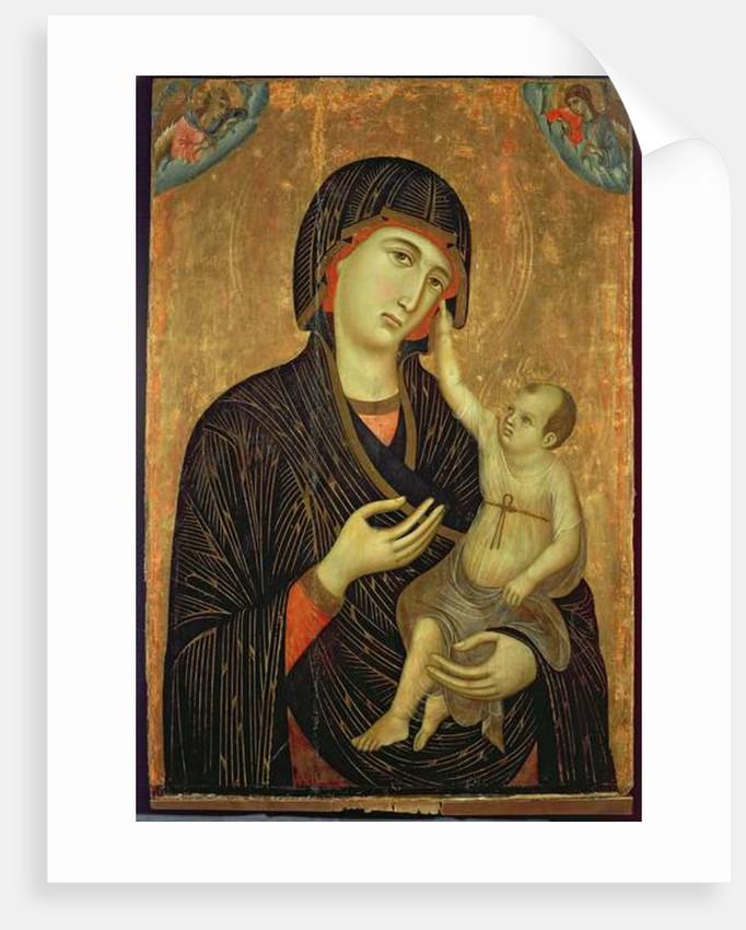 Crevole Madonna by Duccio di Buoninsegna