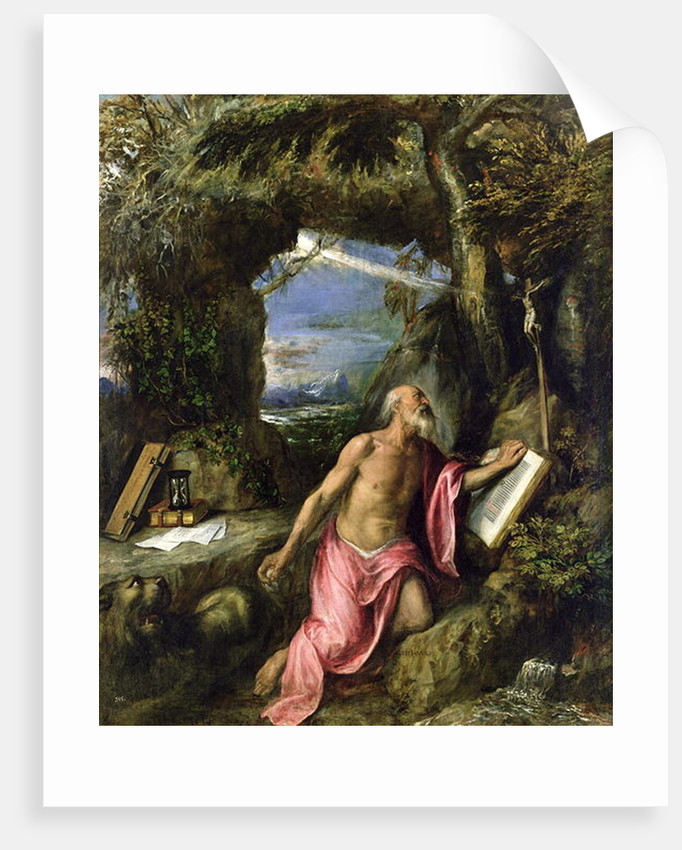 St. Jerome by Titian