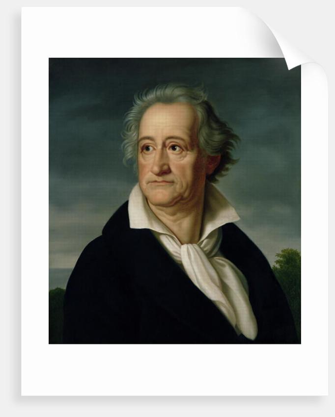 Goethe by Heinrich Christoph Kolbe
