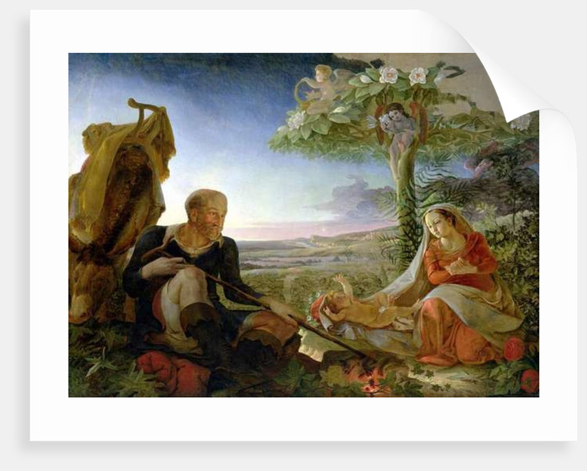Rest on the Flight into Egypt by Philipp Otto Runge