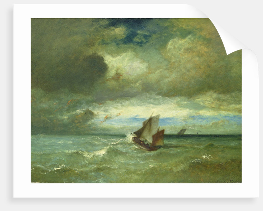 Choppy Sea by Jules Dupre