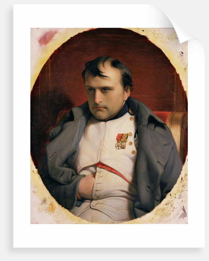 Napoleon in Fontainebleau by Hippolyte Delaroche