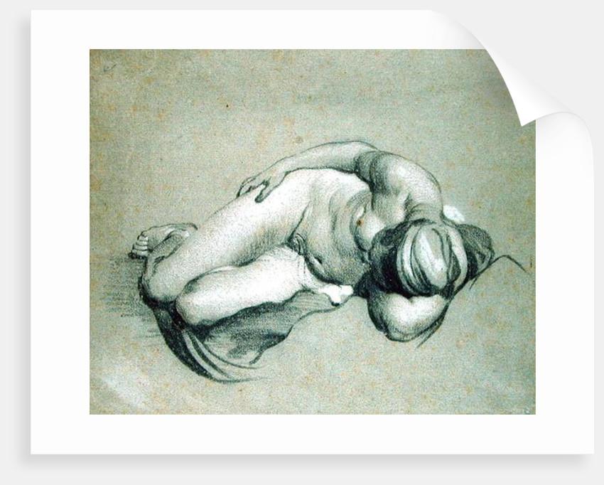 Female Nude by Jacob Adriensz Backer