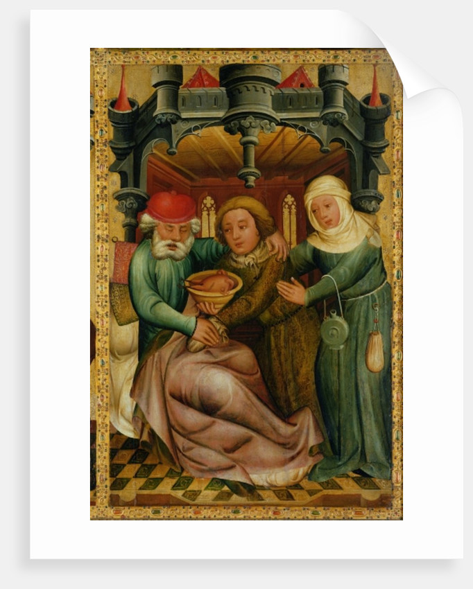 The Stolen Blessing from the High Altar of St. Peter's in Hamburg, the Grabower Altar by Master Bertram of Minden