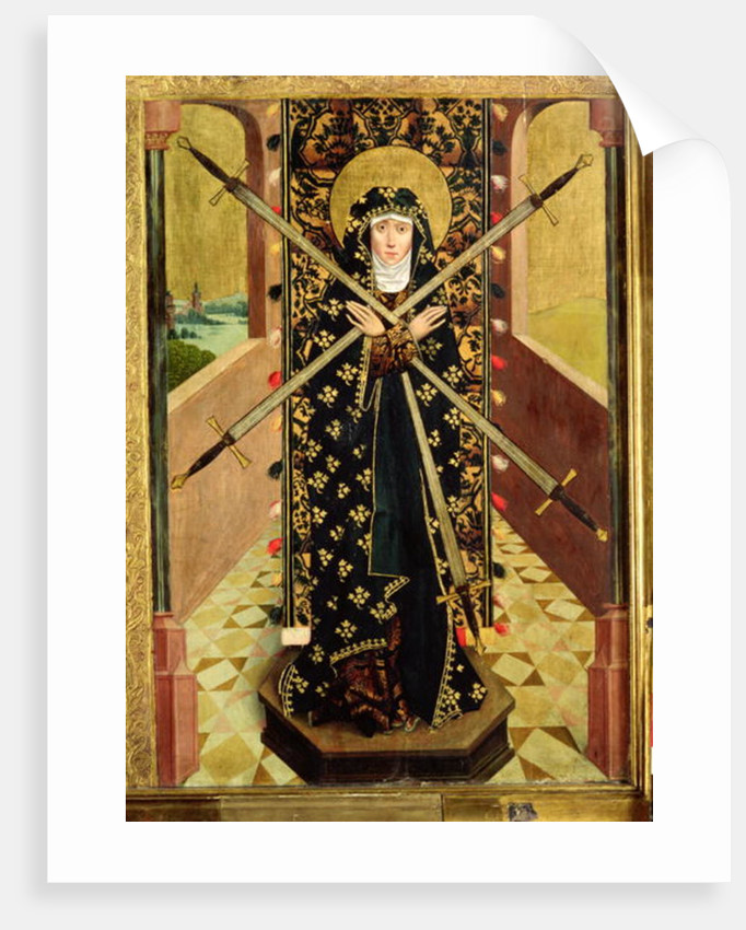 Virgin of Seven Sorrows from the Dome Altar by Absolon Stumme