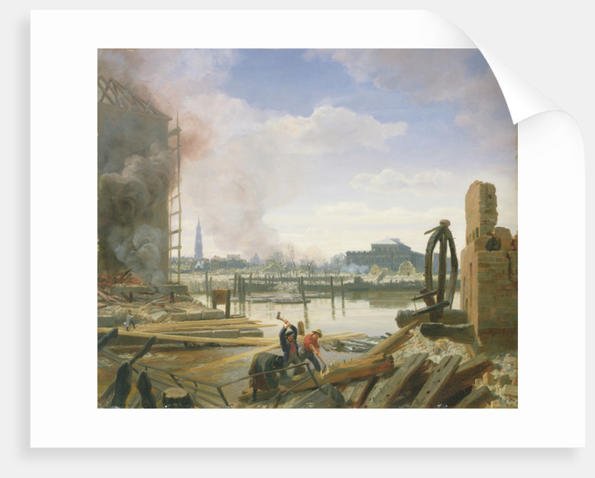 Hamburg After the Fire by Jacob Gensler
