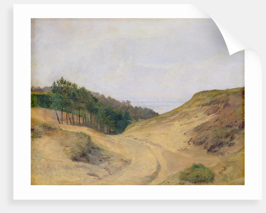 The Narrow Pass at Blankenese by Jacob Gensler
