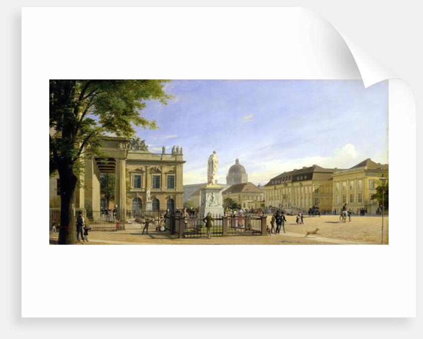 New Guardshouse, Arsenal, Prince's Palace and Castle in Berlin by Johann Philipp Eduard Gartner
