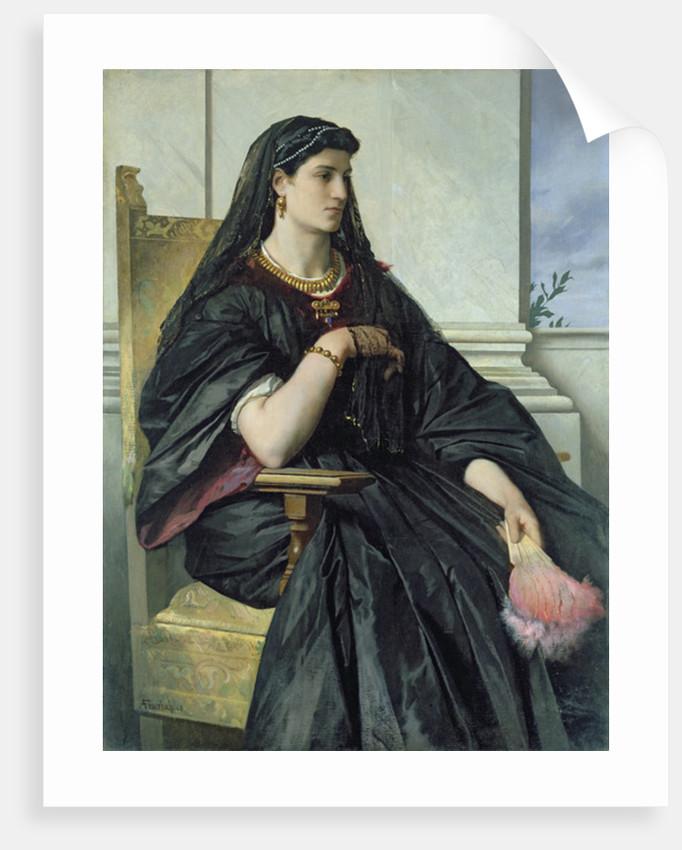 Bianca Capello by Anselm Feuerbach