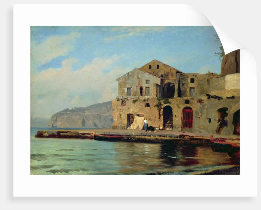 Beach House at Sorrento by Louis Gurlitt