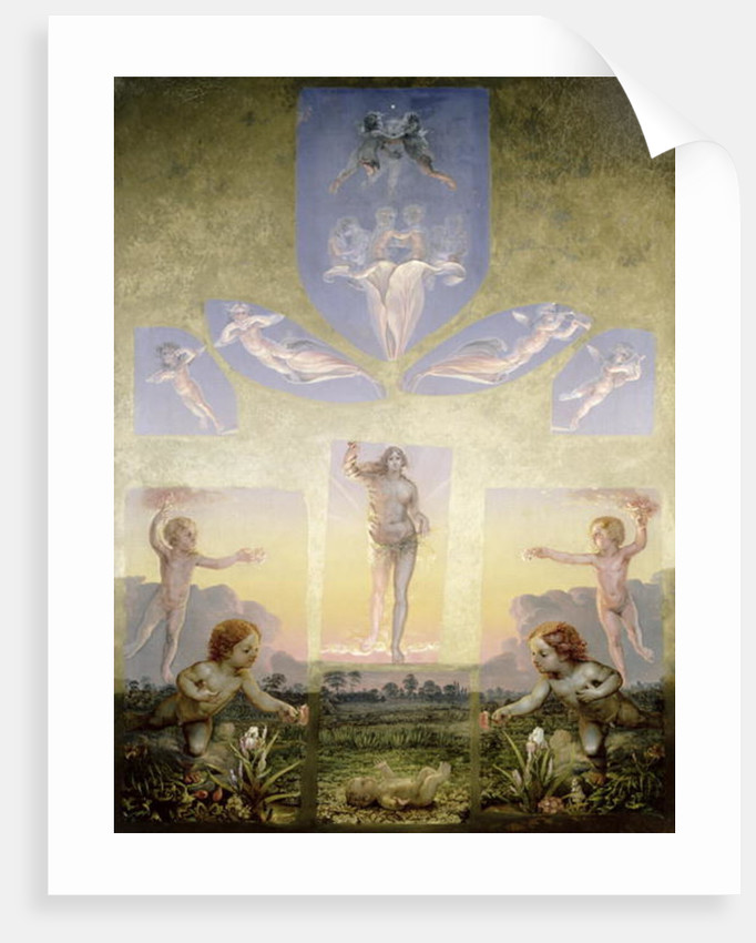 The Morning (second version) by Philipp Otto Runge