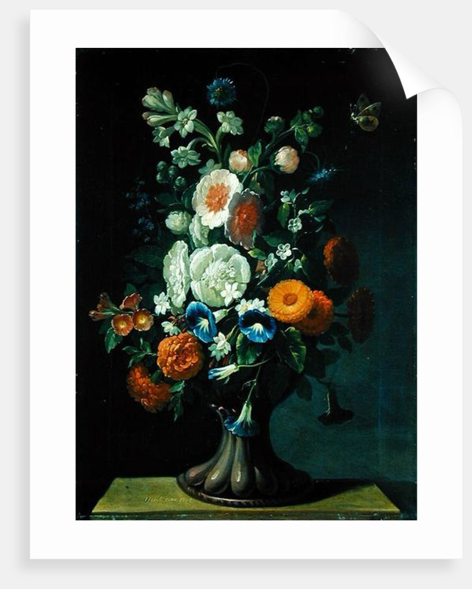 Still Life with Flowers, 1764 by Jens Juel