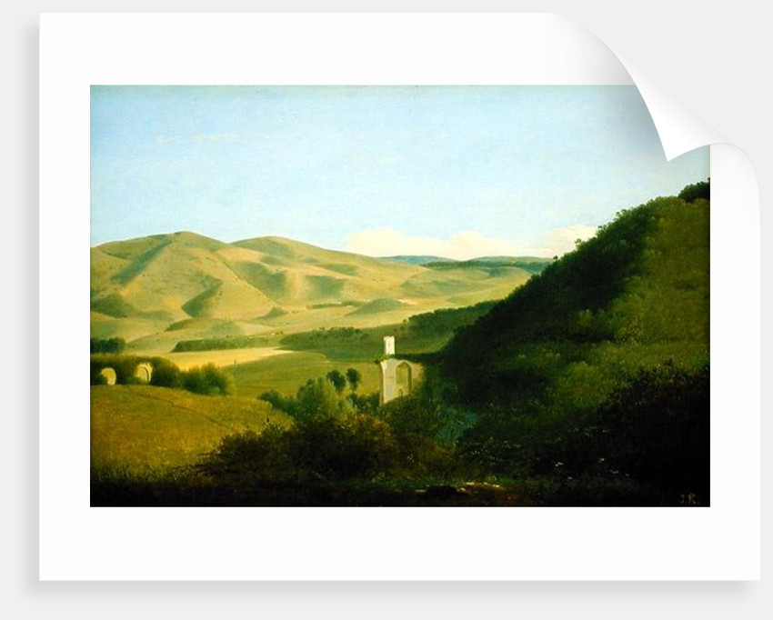 A Valley in the Countryside by Joseph August Knip