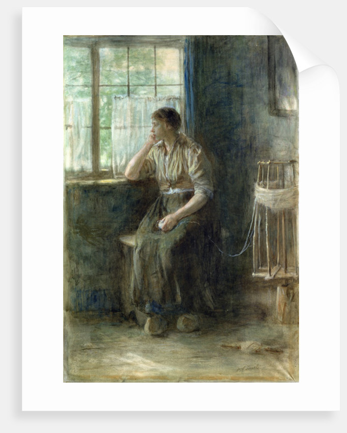 Woman at the Window by Jozef Israels