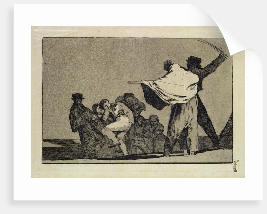 Well known Folly by Francisco Jose de Goya y Lucientes