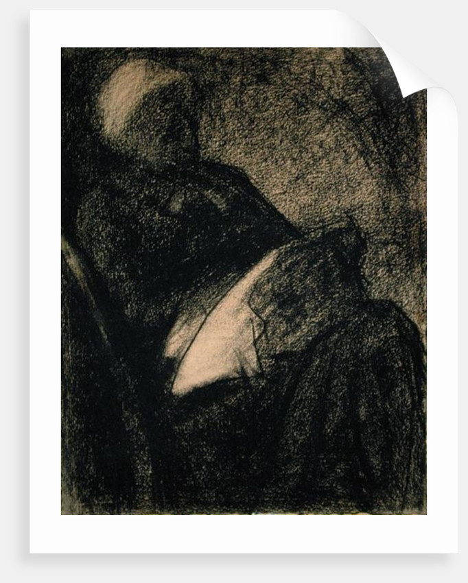 Embroiderer by Georges Pierre Seurat