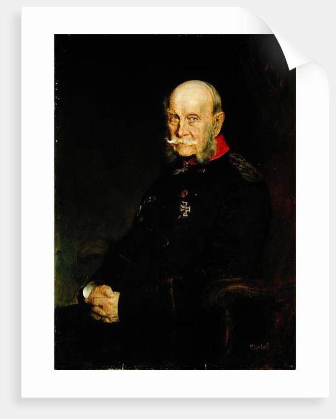 Kaiser Wilhelm I by Franz Seraph von Lenbach
