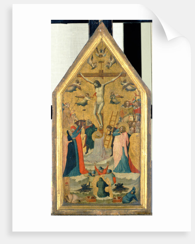 The Crucifixion of Christ by Master of the School of Rimini