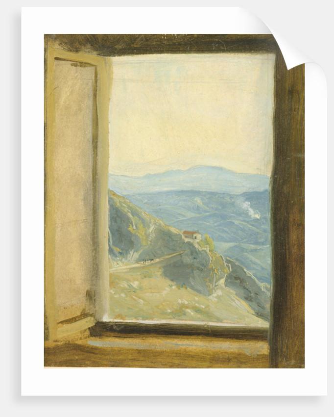 View of Campania by Rudolph Friedrich Wasmann