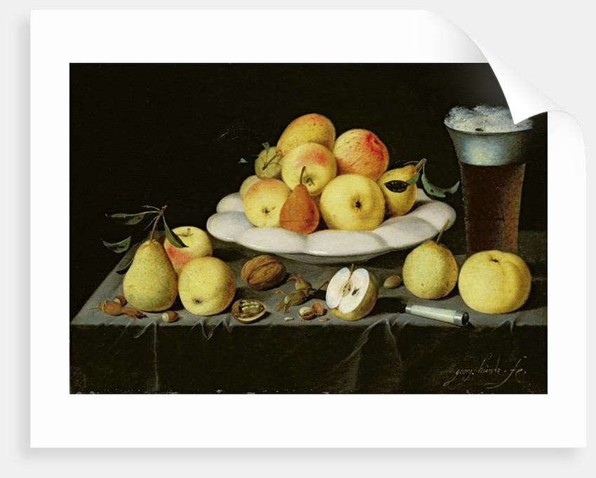 Still life by Johann Georg Hinz