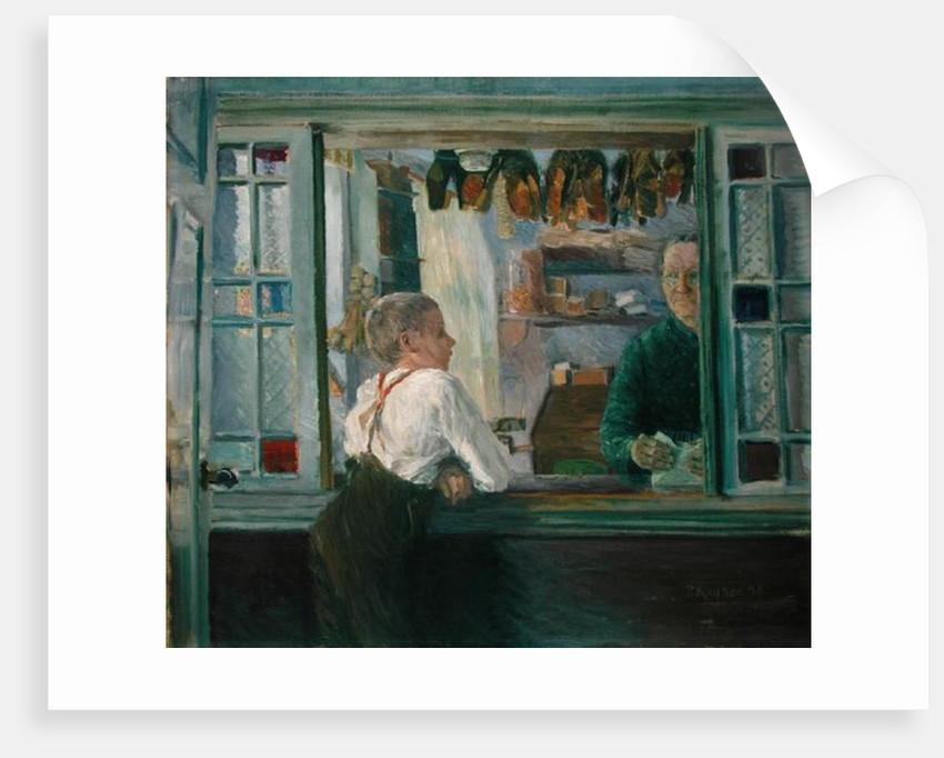 In the Junk Shop, 1897 by Jean Paul Kayser