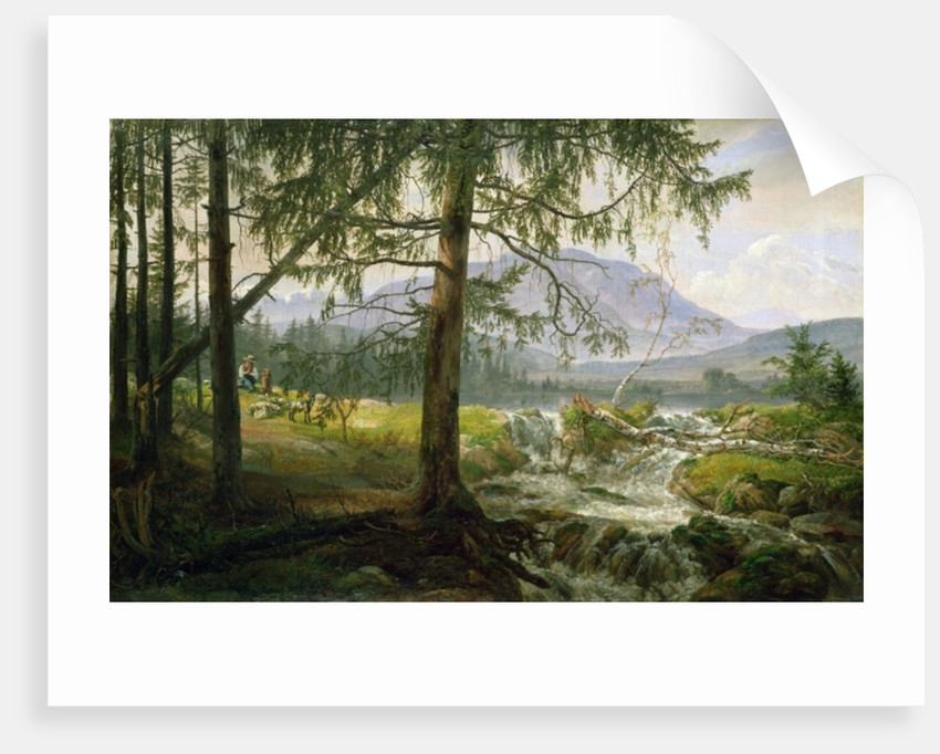 Northern Landscape by Johan Christian Dahl