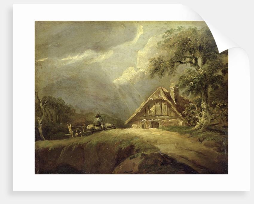 Landscape by German School