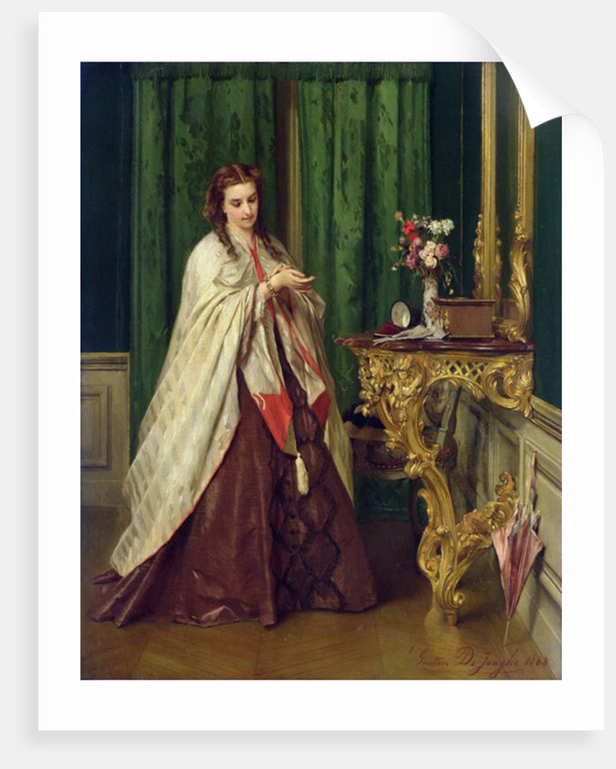 Woman at her Toilet by Gustave Leonard de Jonghe