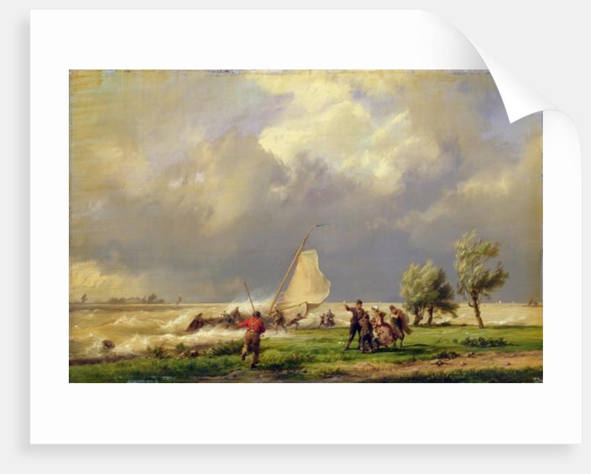 The Shipwreck by Hermanus Koekkoek