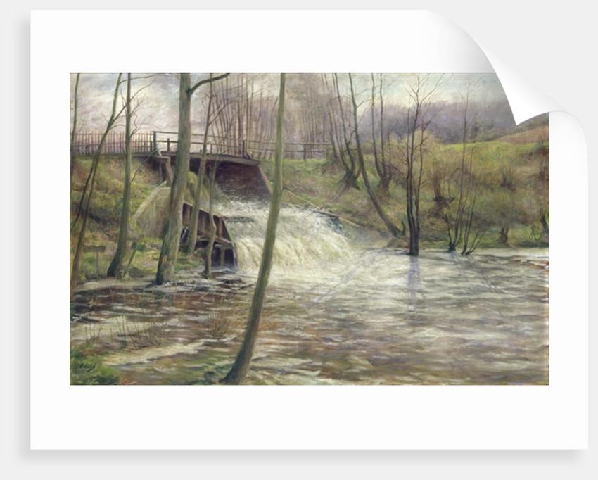 A Mill Stream by Karl Oderich