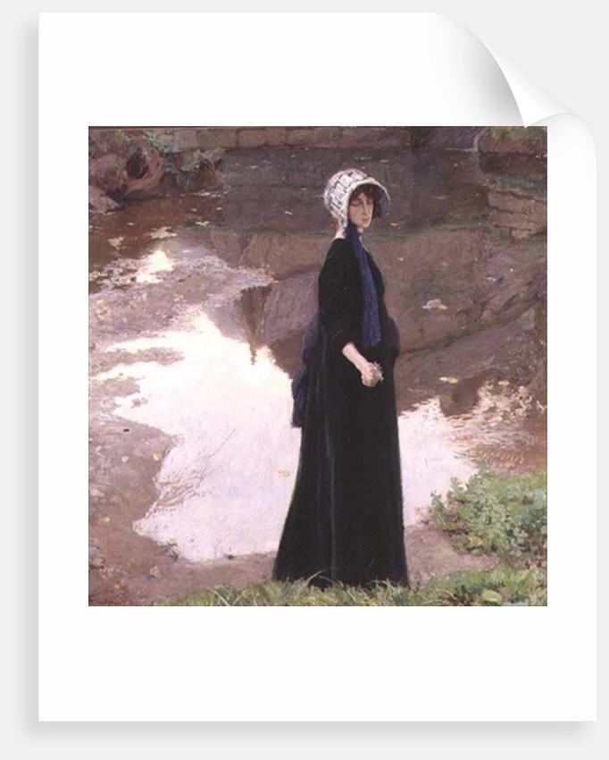 Reverie, 1910 by Franz van Holder