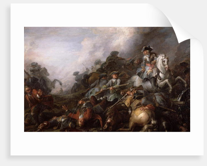The Cavalry Charge by Charles Parrocel