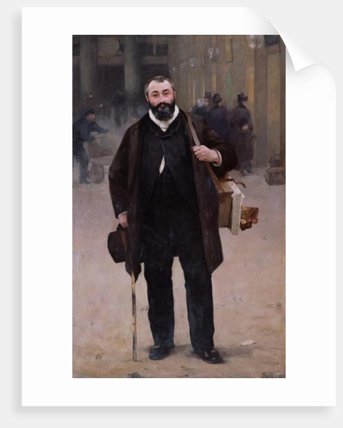 Portrait of Pierre-Emmanuel Damoye by Alfred Roll