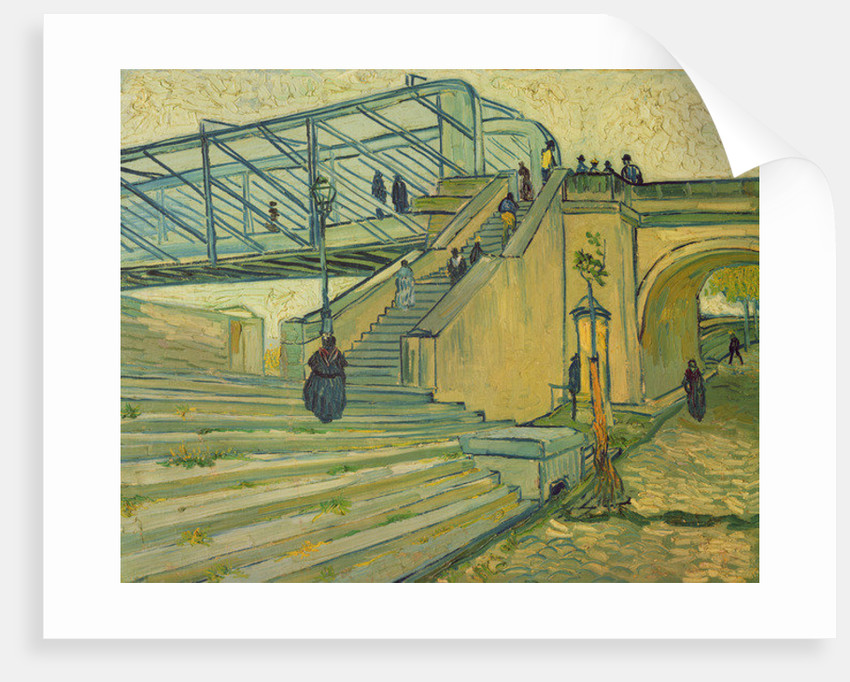 Bridge of Trinquetaille by Vincent van Gogh